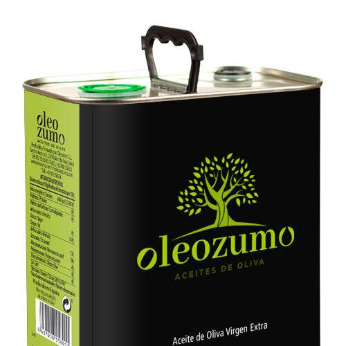 lata de dos litros y medio de aceite de orozumo seleccion gourmet